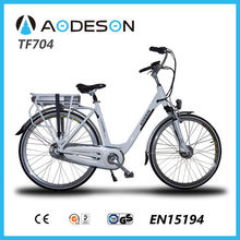 EN15194 Approval good quality and new design city electric bicycle/bike, ebike TF704 bicicleta electrica