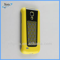 Yellow Armor Hard Cover Case For Samsung S4 mini