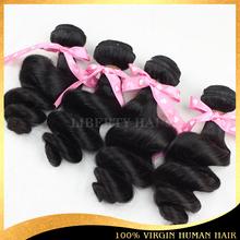 No Shedding No Tangle Unprocessed Wholesale Virgin Brazilian Loose Curl Hair