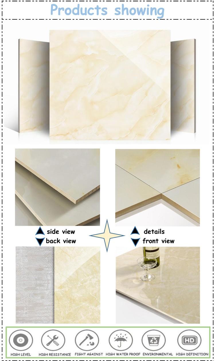 Marble Look Porcelain Tile Porcelanato 60x60 Ceramic Tile Full