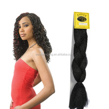 Black women buy Yaki synthetic Jumbo braids hair for braiding