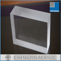 2015 new thick transaprent aquarium acrylic sheet 30mm