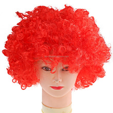 2015 Hot sale Halloween Explosion Clown Wig cheap price Party Wig