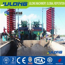 land iron separator machine/bucket chain gold dredger/ships for sale