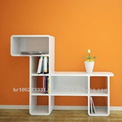 Cute Puppy Bookcase Knock Down Furniture Shopfittings Plastic Bookshelf Buy Colored Furniture