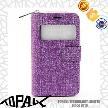 Credit Card Slot Leather Flip Case for iphone 6, Wallet Case for Samsung Galaxy S4 I9500