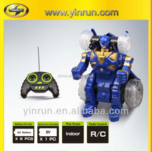 rc stunt car toy electrical baby toy car transform robot toy