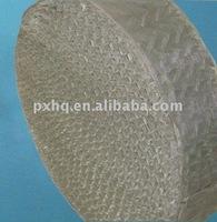 Corrugated wire gauze