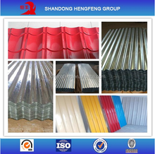 Color coated Galvanized Corrugated Steel Building Roofing Sheet