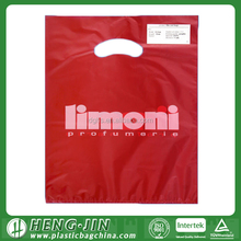 Die Cut Plastic Bag Custom Printed OEM Die Cut Plastic Bag
