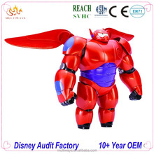 Big Hero 6 Baymax Cartoon Toy Figure, Cartoon Character Action Figure