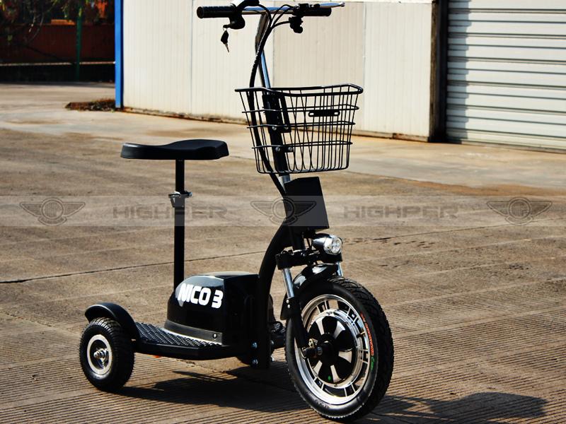 pas cher adulte 3 roues de 350 w 36 v lectrique tricycle. Black Bedroom Furniture Sets. Home Design Ideas