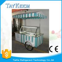 Ice cream cart, outdoor gelato cart for sell Italian ice cream