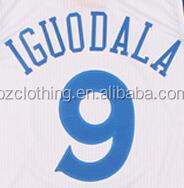 Andre Iguodala #9 Golden State White Basketball Jersey