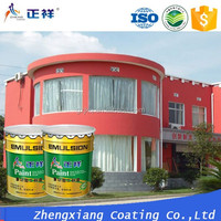 ZXPAINT water based clear odorless interior wall latex emulsion paint