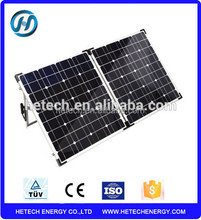 120w 12v solar battery charger camping portable solar folding panel 120w