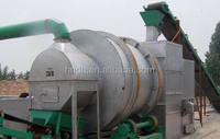 Drum rotary silica sand dryer / three-cylinder dryer used in the mortar production line