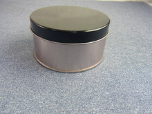 Round Dia 90 mm cosmetic tin can