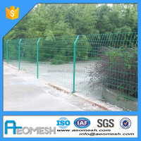 Made In Guangdong Welded Metal Garden Fence Panel with Metal Swing Gate