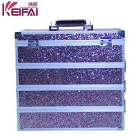 New Products 2015 Combination Price Professional Cosmetic Trolley Cases