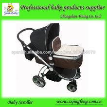 bebé cochecito 3 en 1 con capazo y asiento de automóvil