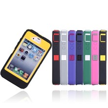 Classical iPhone4 accessories three anti metal protective, cheap iPhone4 armor mobile phone case
