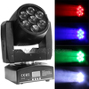 Hot new products for 2015 7x15w quad beam led zoom moving head light