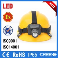 ip65 Most power portable rechargeable underground Explosion Proof Headlamp safty led mining light