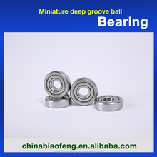 Design New Products Miniature Deep Groove Ball Bearing 695