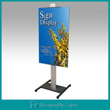 metal sign stand
