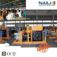 Mattei air end for CRANE,high temperature,high dust and high magnetic powder aluminium specical air compressor