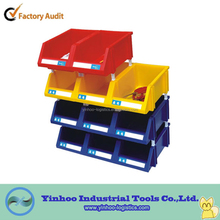 heavy duty easy handling plastic stackable storage parts bins for small parts alibaba China