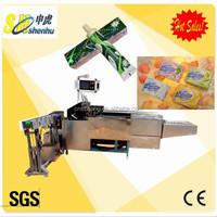 small corrugated box machines/cartoning machine/preservative film box packing machine