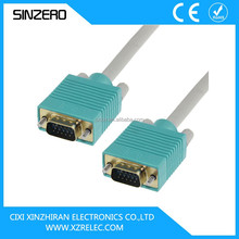 high quality vga cable right angled/low voltage monitor cable/cable vga rca
