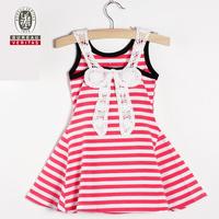 2012 fashion design babys dress pure color ankle-length kid dresses