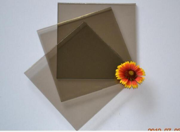 2mm 9mm teint bronze verre flott prix par m tre carr for Prix metre carre construction