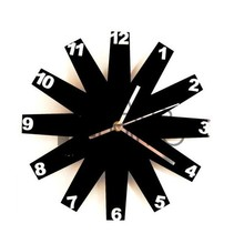 Art And Craft Acrylic Wall Clock For Home Decoration