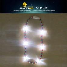 2015 New style Led flashing necklace,glow necklace,LED necklace