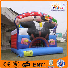 New year promotional inflatable pirate jumping castle