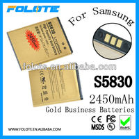 GB T18287-2000 BUSINESS GOLD battery FOR Samsung S5830 EB464358VU