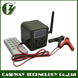 High performance goose hunting , 50w hunting caller , 150dB hunting trap with 300~500 meter remote distance