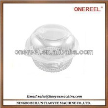 Recycling and non-toxic plastic cupcake container