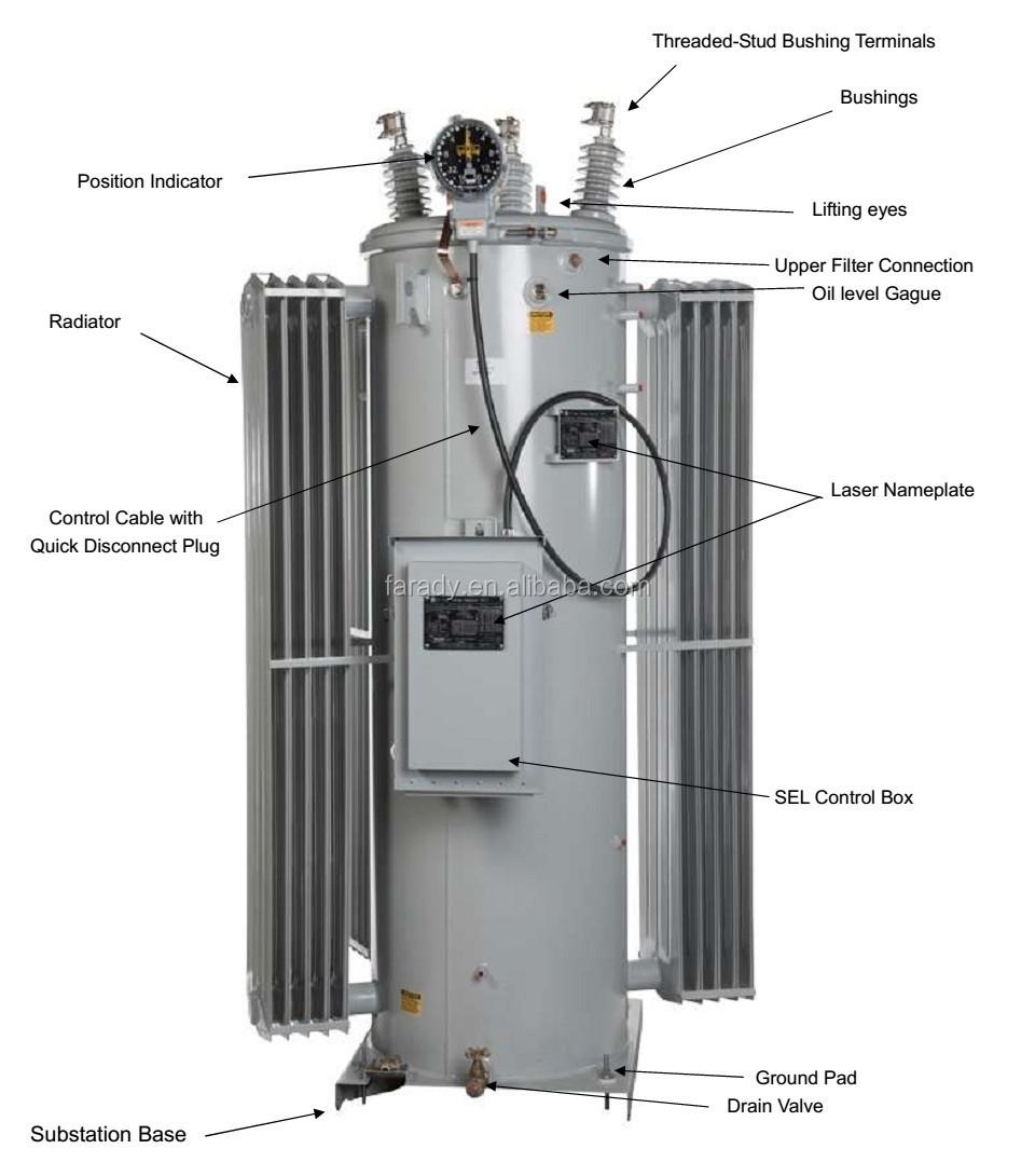 Transformer Manufacturer Of 11kv Pole Mounted Step Voltage