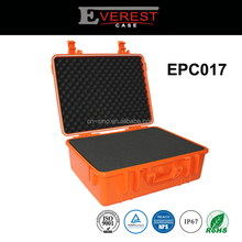 Waterproof High-Impact plastic equipment/instrument case carrying high quality case with foam