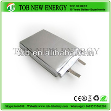 3.7v 900mah rechargeable battery /polymer li-ion battery cell