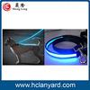 Bottom price new arrival nylon dog leash with led light