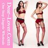 Wholesale 2pcs Leopard Trims Sexy lingerie christmas costumes woman