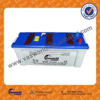 63513 Auto battery japan standard 12V 135ah Starting dry charged battery made in China