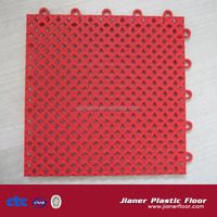 new fashion pp interlocking floor tiles for futsal/ basketball/ badminton/ tennis/ volleyball court