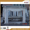 Chinese white marble fireplaces